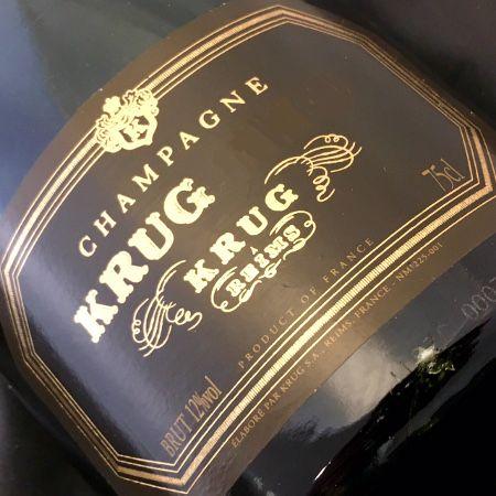 Champagne Krug Brut Vintage 1976