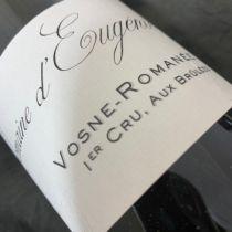 Domaine d'Eugénie Vosne Romanee Aux Brulees 2018