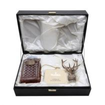 Whisky Glenfiddich Single Malt 30 ans Silver Stag Decanter bouteille 70 cl