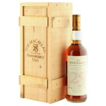 The Macallan Anniversary Single Highland Malt 25 ans 1966 bouteille-70 cl