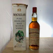 Whisky Macallan Pure Highland Malt 15 ans 1958 bouteille-70 cl