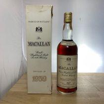 Whisky Macallan Pure Highland Malt 1959 bouteille-70 cl