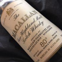 Whisky Macallan Pure Highland Malt 1962 bouteille-70 cl