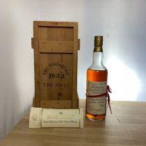 Whisky Macallan Single Highland Malt 1938 bouteille-70 cl