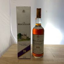 Whisky Macallan Single Malt 18 ans 1970 bouteille-70 cl