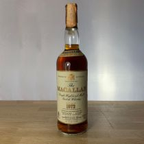 Whisky Macallan Single Malt 18 ans 1972 bouteille-70 cl