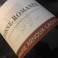 Domaine Arnoux Lachaux Chambolle Musigny 2014