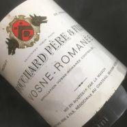 Domaine Bouchard Pere et Fils Vosne Romanee 1981 ELA -4cm