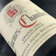 Domaine Henri Richard Charmes Chambertin 2003