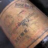 Champagne Veuve Clicquot Brut Rosé 1928