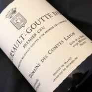 Domaine Comtes Lafon Meursault Goutte d Or 2013