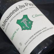 Henri Bonneau CDP Rouge Reserve des Celestins 1989 SD