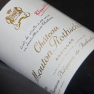 Château Mouton Rothschild 1952 ELA HE