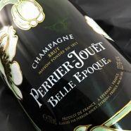 Champagne Perrier Jouet La Belle Epoque Coffret 2 Flutes 1985