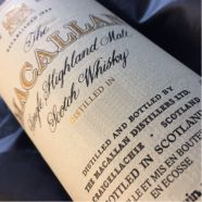 Whisky Macallan Single Malt 18 ans 1972