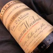 Domaine Weinbach Gewuztraminer Altenbourg Quintessence de Grains Nobles Cuvee Or 1997 bouteille-50 cl