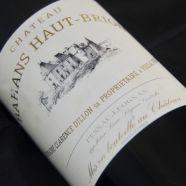 Château Bahans Haut Brion 1998