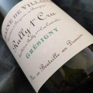 Domaine de Villaine Rully Gresigny 1er Cru 2016