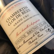 Domaine Bruno Clair Chambertin Clos de Beze 1990