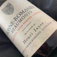 Domaine Henri Jayer Vosne Romanee Les Beaumonts 1983 CA