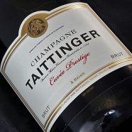 Champagne Taittinger Cuvee Prestige