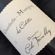 Domaine Cecile Tremblay Chambolle Musigny Les Cabottes 2017