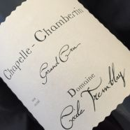 Domaine Cecile Tremblay Chapelle Chambertin 2017