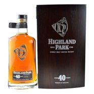 Whisky Highland Park Single Malt 40 ans bouteille-70 cl